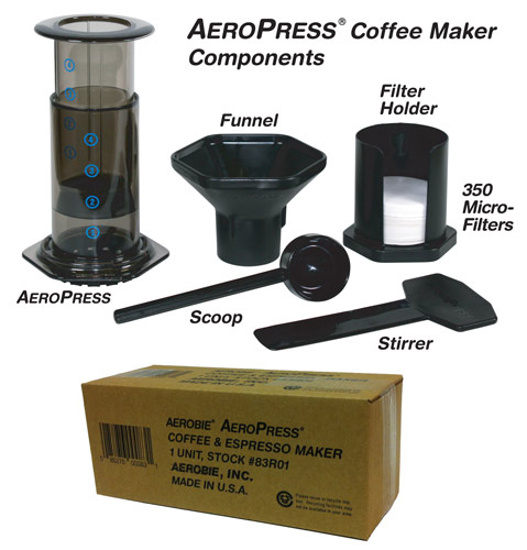 Aeropress Coffee Maker Retailers : B.Y. Group