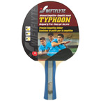 Typhoon Table Tennis Racket - Shock Hollow Handle