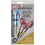 Swiftflyte Soft Tip Silver Brass Darts