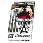 Harrows 90% Bristow Black Darts