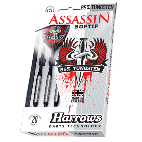 Harrows 85% Assassin Plus SofTip Darts