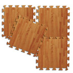 Interlocking Foam Mat Set - Imitation Hardwood