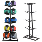 Medicine Ball Display Rack