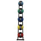 Medicine Ball 5-Ball Display Rack